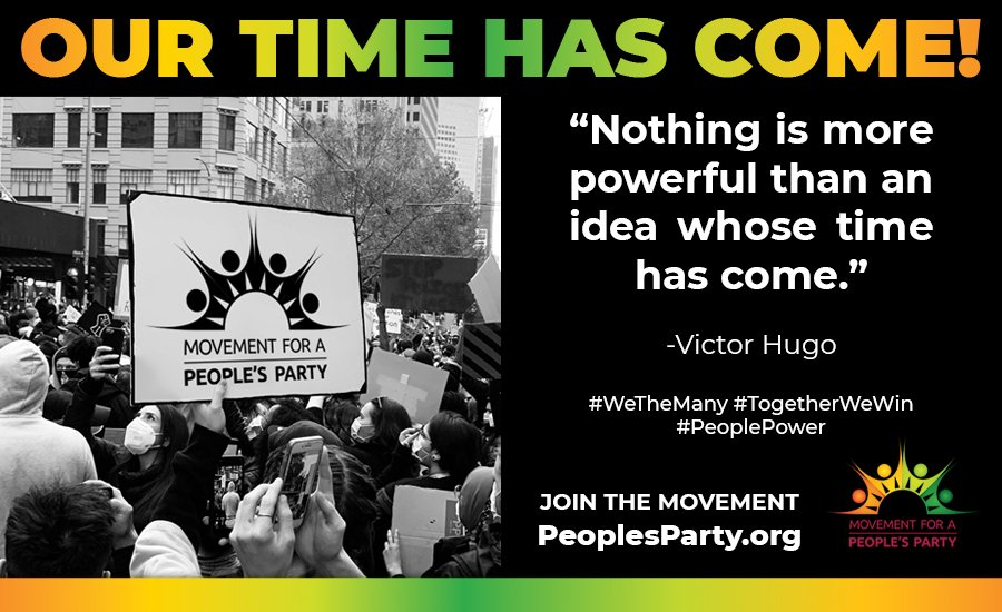 Movement for a People's Party Demands Help for the People