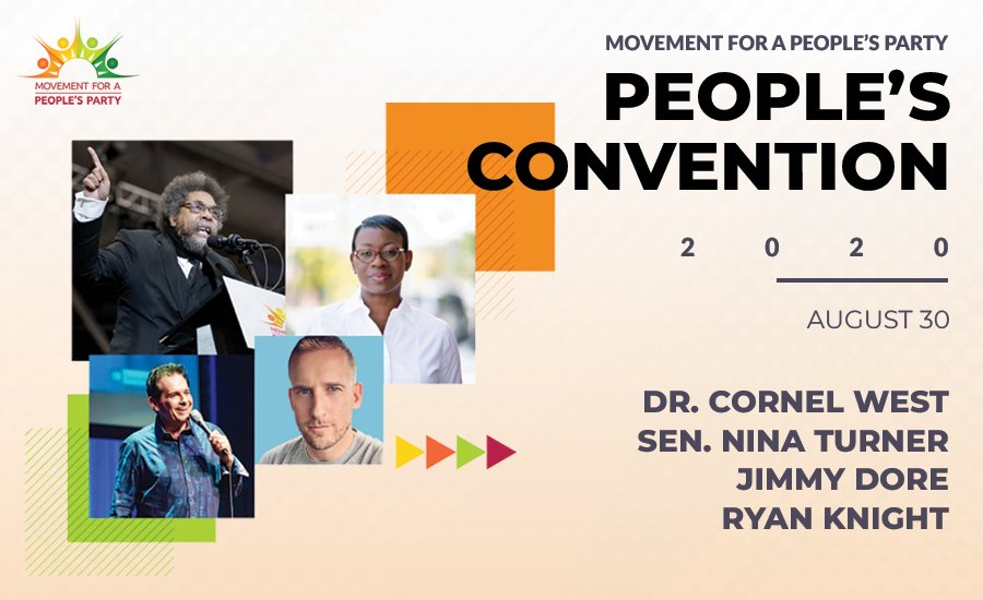 Convención Popular de Nina Turner y Dr. Cornel West Keynote