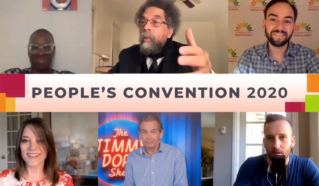 See the 7 Most Requested Speeches from The People's Convention
