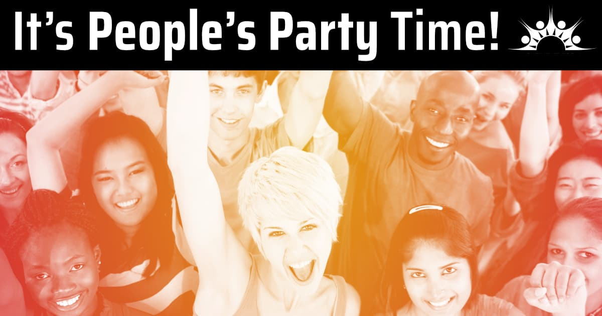 its peoples party time - 1