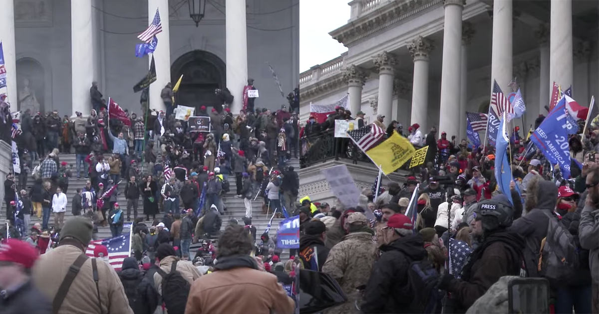 Trump Supporters Invade the Capitol Building