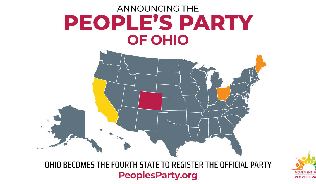 People's Party Kicks Off Petitioning for Ballot Access in Ohio