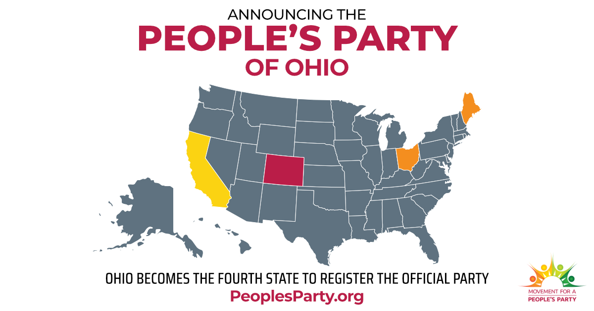 The Ohio People's Party Kicks Off Ballot Access Petitioning