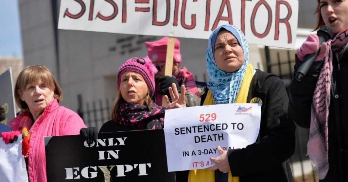 Biden Should Stop Payment on U.S. Funds to Sisi's Egypt