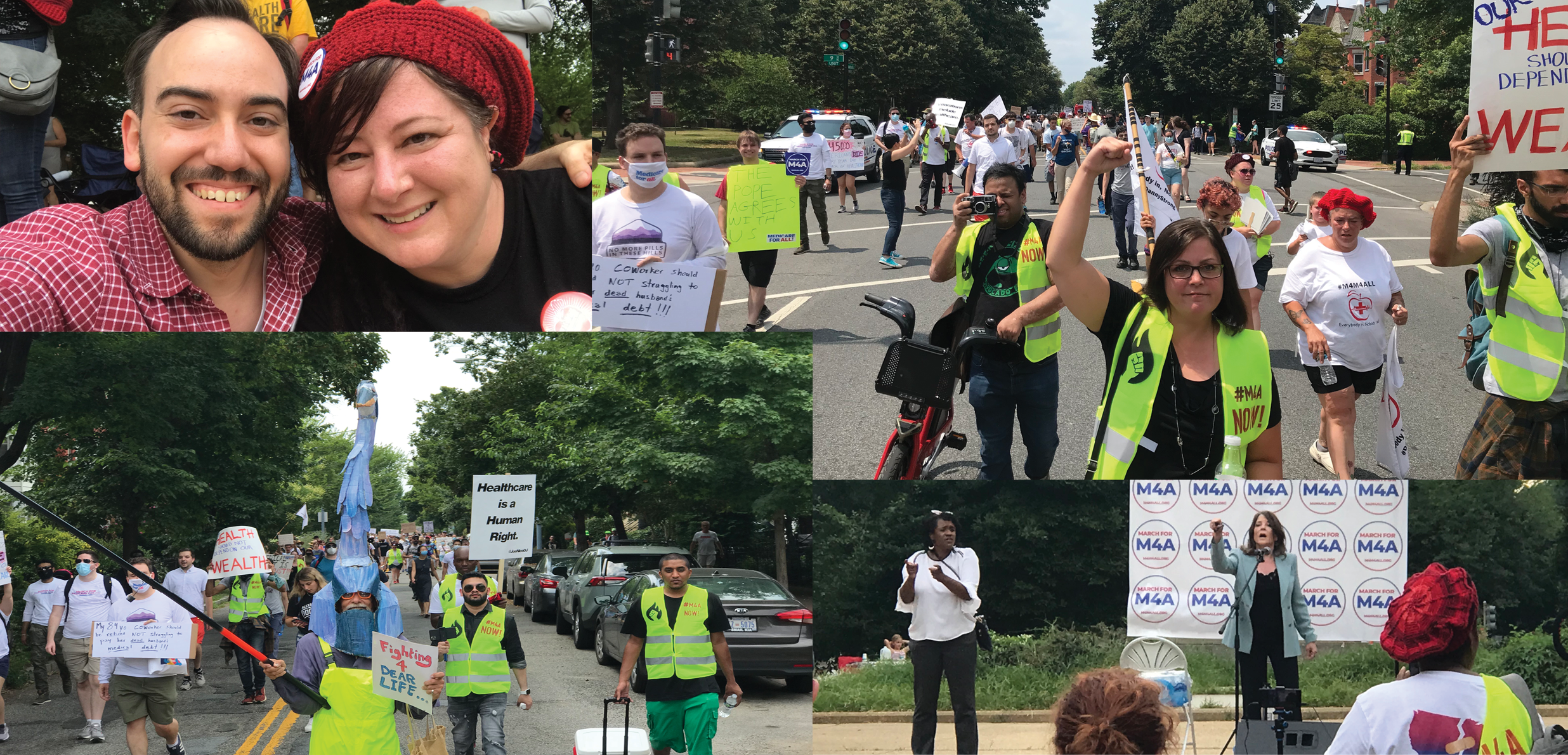 Recap of a Weekend Full of Medicare for All Rallies